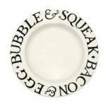 Emma Bridgewater Black Toast & Marmalade 10.5 Dinner Plate