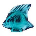 Lalique Turquoise Fish