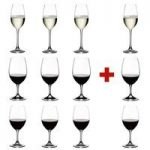Riedel Crystal Ouverture Red Wine, Magnum & Champagne Glasses (4 of Each), Pay 8 Get 12