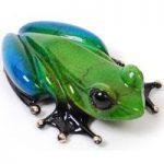 Frogman Miniature Figurines Zen