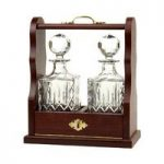 Royal Scot Crystal London Giftware Double Tantalus