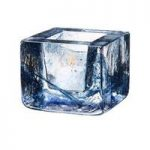 Kosta Boda Brick Votive, Blue