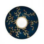 Raynaud Cristobal Marine Coral Gold 22cm Dessert Plate