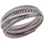 Swarovski Slake Deluxe Grey Bracelet