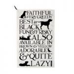Emma Bridgewater Black Toast & Marmalade Black Toast Labrador Tea Towel