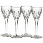 Waterford Crystal Lismore Barware and Stemware Cordial Set of 4