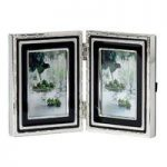 Vera Wang With Love Giftware Noir Folding Frame 2″ x 3″