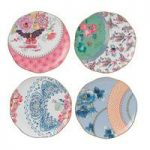 Wedgwood Butterfly Bloom 20cm Set of 4 Plates