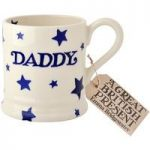 Emma Bridgewater Blue Skies Daddy Starry Skies 1/2 Pint Mug