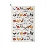 Emma Bridgewater Specials Year in the Country Hens Tea Towel