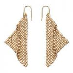 Swarovski Fit Gold Earrings