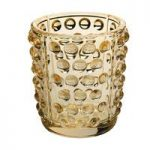 Lalique Mossi Gold Luster Votive