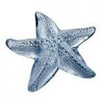 Lalique Blue Luster Oceania Starfish