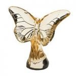 Lalique Gold Luster Butterfly Rosee