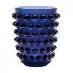 Lalique Mossi Midnight Blue Vase