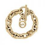 Michael Kors Logo Lock Charm Bracelet