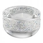 Swarovski Shimmer Silver Tea Light