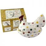 Emma Bridgewater Polka Dot Hen on Nest (Boxed)