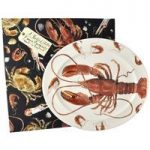 Emma Bridgewater Shellfish Lobster Large Oval Platter Boxed