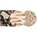 Emma Bridgewater Shellfish Langoustines & Shrimps 2 x 8 1/2 Plates Boxed