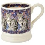Emma Bridgewater Tabby Cat 1/2 Pint Mug