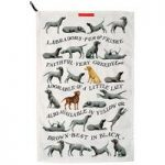 Emma Bridgewater Labrador Narrative Tea Towel