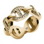 Michael Kors Maritime Ring, Yellow Gold Tone Size O
