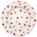 Emma Bridgewater Pink Hearts 10.5 Dinner Plate