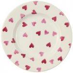 Emma Bridgewater Pink Hearts 8.5 Dessert Plate