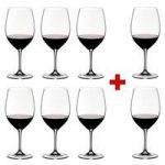 Riedel Crystal Vinum Cabernet Sauvignon / Merlot / Bordeaux Glass, Pay 6 Get 8