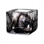 Kosta Boda Brick Votive, Black