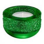 Swarovski Shimmer Green Tea Light