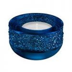 Swarovski Shimmer Dark Blue Tea Light