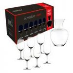 Riedel Crystal Ouverture Magnum 6 Glasses + Gift Decanter