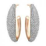 Swarovski Circlet Large Hoop Earrings