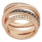 Swarovski Dynamic Rose Gold Ring, Size 58
