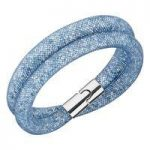 Swarovski Stardust Blue Double Bracelet, Small