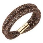 Swarovski Stardust Brown Bracelet, Medium