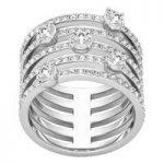 Swarovski Creativity Silver Ring, Size 60