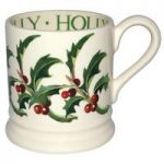 Emma Bridgewater Holly 1/2 Pint Mug