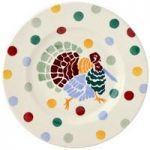 Emma Bridgewater Polka Dot Turkey 8 1/2″ Plate