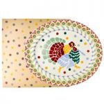 Emma Bridgewater Polka Folk Turkey Large Platter