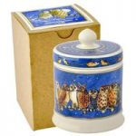 Emma Bridgewater Owls Small Lidded Candle (Boxed)
