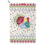Emma Bridgewater Polka Folk Turkey Tea Towel