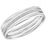 Swarovski Exact Bangle, Medium