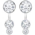 Swarovski Slake Dot Silver Earring Jackets