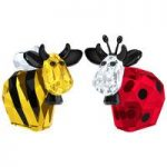 Swarovski Bumblebee & Ladybird Mo 2016 Limited Edition