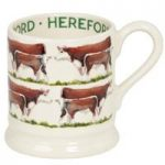 Emma Bridgewater Hereford Cow 1/2 Pint Mug
