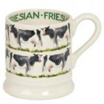 Emma Bridgewater Friesian Cow 1/2 Pint Mug