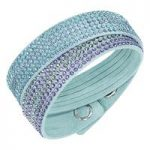 Swarovski Slake 2 in 1 Light Blue Bracelet, Medium